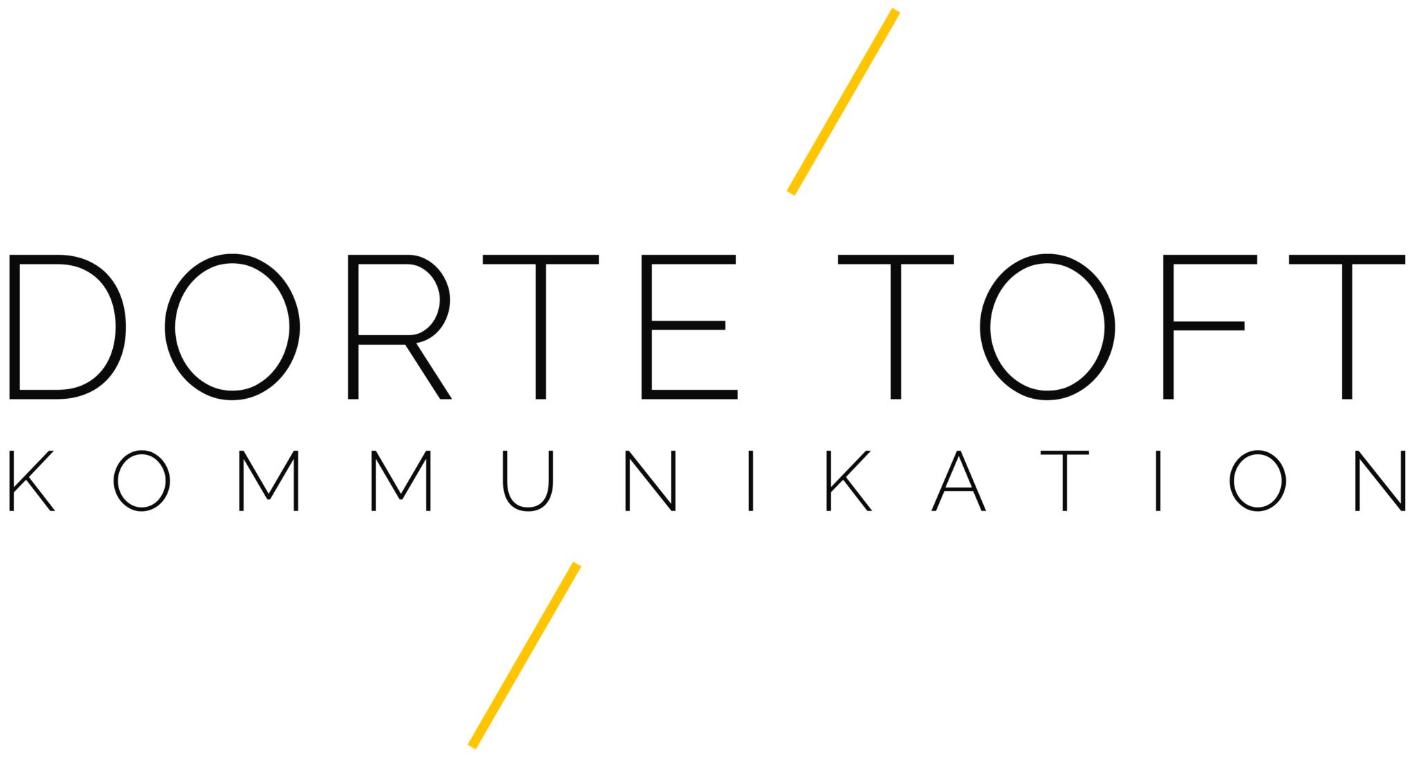 Logo Dorte Toft Kommunikation